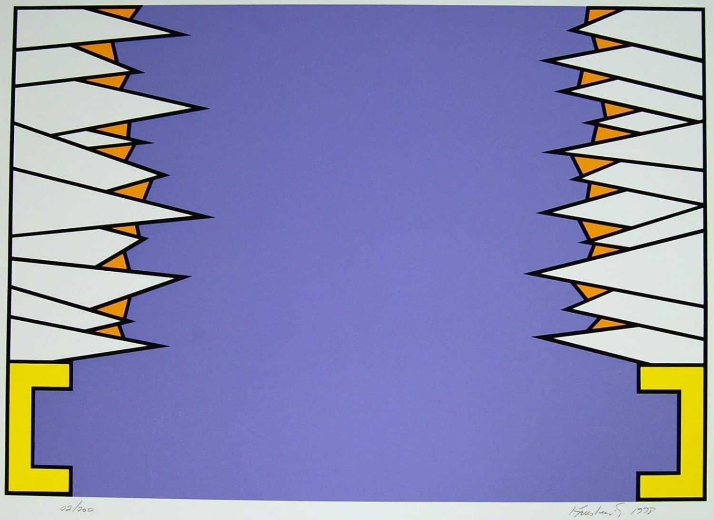 Nicholas Krushenick Retrospective Art in America