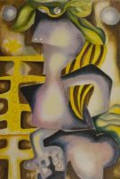 Alexandra Nechita Narcissus and Echo 2003  Original Signed Lithograph